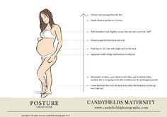how to use posture for pregnancy and maternity portraits