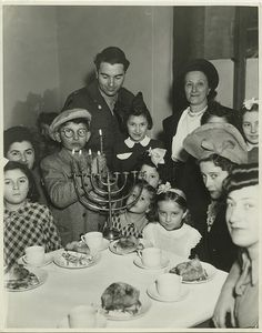 Hanukkah party, Jewish Gemeinde, Munich, Germany by Center for Jewish History, NYC, via Flickr