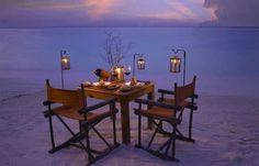 Qué lugar para una cena especial!