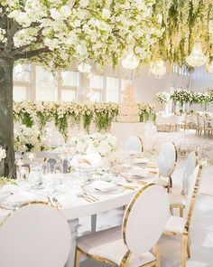 33 Modern Wedding Decor Ideas ❤ modern wedding decor white flower decor dianekhouryweddingsandevents #weddingforward #wedding #bride