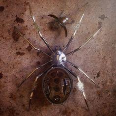 The Art of Oliver Kieser - Spider vs Beetle 2 - Zbrush