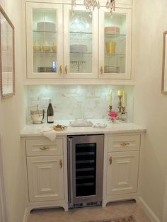 This French styled butler's pantry was recently renovated from a storage closet   Here are 10 styling tips   #Designthusiasm