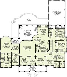 like this idea for a floor plan!