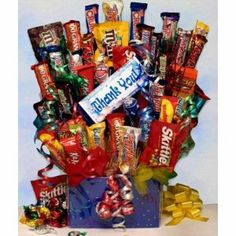 Sweet Thanks Chocolate Gift Basket