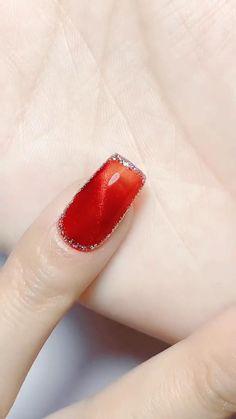 Simple Nail Art Designs, Easy Nail Art, Nail Art Videos, Simple Nails, Plain Nails, Easy Nails