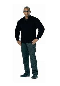 Ultra Force Mens Black reversible zip up commando sweater | Buy Now at camouflage.ca