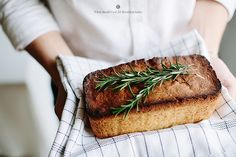 lemon and rosemary loaf