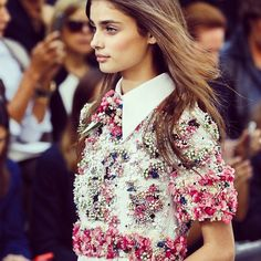 Cant get enough of Chanel ss15. Isn't it a perfection? #chanel