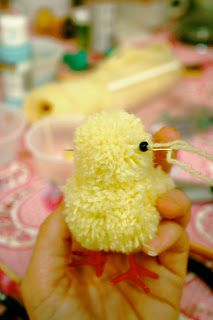 Bitter Betty Blogs: The Chick 'N Cart Tutorial: Part 1- The Chicks!