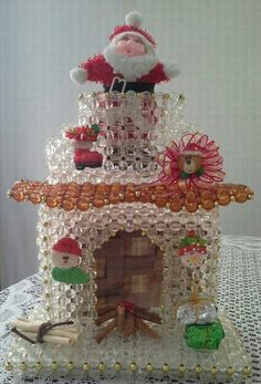Bead Kits, Bead Crafts, Beadwork, Snow Globes, Illusions, Gingerbread, Merry Christmas, Angeles, Christmas Decorations