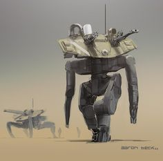 it's got a tank for a face. by Aaron Beck