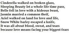 Disney Princess Poem