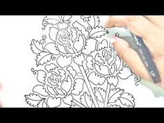 YouTube Drawing Flowers, Hand Embroidery Designs, Pencil Art, Designs To Draw, The Creator, Drawings, Youtube, Drawing, Portrait