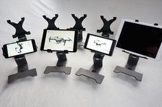 "LifThor Holder for Mavic, 1 Base 4 options.  Mobile Phone Holder Tablet Holder 7,5"" - 10.5"" XXL Tablet Holder 9.7"" - 12.9"" CrystalSky CS holder Tablet Holder, Mavic, Cool Gadgets, Evo, Cool Stuff, Altar, Cool Tech Gadgets, Cool Tools, Cool Electronics"