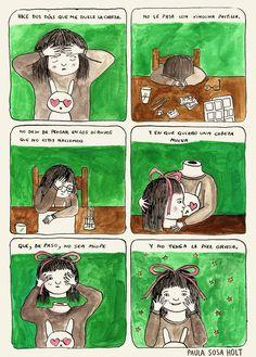 Paula Sosa Holt, illustration, drawing, dibujo, cómic