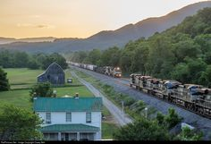RailPictures.Net Photo: NS 9906 Norfolk Southern GE C44-9W (Dash 9-44CW) at Lafayette, Virginia by Casey Bell