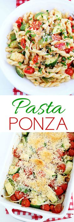 Pasta Ponza #meatlessmondays #food #vegetarian #meatless #pasta #recipe #30minutemeal #cooking