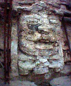 "Lamanai  Belizean Mayan Ruins - ""Submerged Crocodile"""