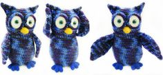 Crochet owl Fufoni crochet toys with love