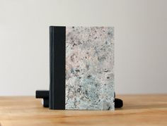 Small Marbled Paper Hardcover Notebook  Journal  by knotbooks