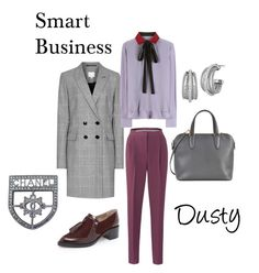 Smart Business Dusty by natalia-minnigalimova on Polyvore featuring мода, Valentino, Zimmermann, Valextra, Charriol and Chanel