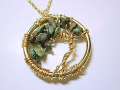 Green Chinese Jade Pendant, Windswept Tree Of Life Chinese Jade Necklace, Original Design By All You Need Is Beads Windswept Tree Of Life Pendant Beautiful . Jade Necklace, Jade Jewelry, Pendant Necklace, Tree Of Life Necklace, Tree Of Life Pendant, Unique Necklaces, Jewelry Necklaces, Jade Tree, Graduation Jewelry