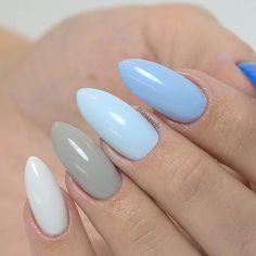 Tag @ a friend who loves light and gentle manicure :)  bpnails.pl  gel polish no. (start from left) 57, 50, 86, 38, 53.   #nailart #nailsoftheday #nails #nail #hybrydnails #hybrydymanicure #kochampaznokcie #instanail #nails2inspire #paznokciehybrydowe  #paznokcie  #nailartist_manicure #nails #nailswag #gelnails #blekitne #nailru #nailstagram  #nailitdaily #nailpro  #instagramnails  #beautifulnails #trna #livelovepolish  #bpnails #pastelnail #bluenails #skybluenails