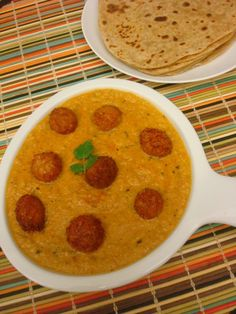 Vegetarian Indian Recipes: Velvety Cheese Balls Curry Vegetarian Soups, Vegetarian Main Dishes, Veg Dishes, Veggie Recipes, Soup Recipes, Healthy Recipes, Food Shows, Cheese Ball, Curries
