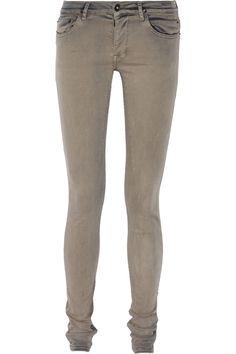 Rick OwensDetroit mid-rise skinny jeans
