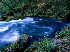 Big Spring in the Ozark National Scenic Riverways Park - one of my most favorite places.