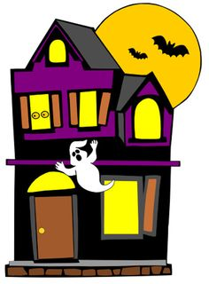 halloween minus clip art halloween fall pinterest haunted rh pinterest nz clipart pictures of haunted houses free clipart haunted house