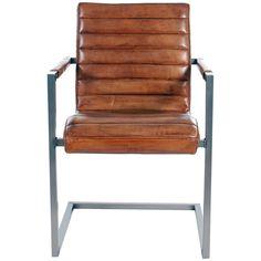 Sabina Leather Arm Chair
