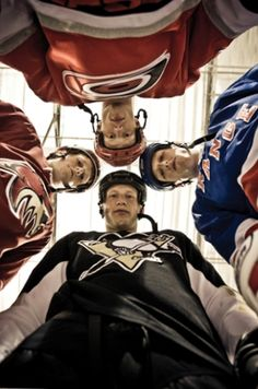 The Staal Brothers...that must be pretty awesome to have 3 sons in the nhl with a fourth close to it