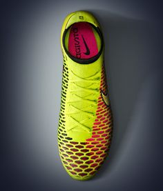Nike Magista - part sock, part football boot. It'll go head to head against the Adidas Primeknit Samba.