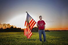 Senior high school senior guy boy, sunset, class of 2016, senior photo, posing, photography, senior photography, senior photographer, USA, US flag, flag, future marine, marine, military, boot camp,  www.heathersearsphotography.com www.facebook.com/heathersearsphotography