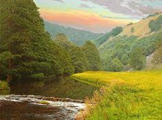 Michael James Smith. British Landscape Artist