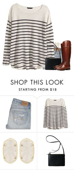 """Untitled #1585"" by meljordrum ❤ liked on Polyvore featuring Abercrombie & Fitch, H&M, Kendra Scott, Tory Burch, women's clothing, women's fashion, women, female, woman and misses"