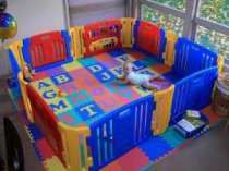 Creative Ways To Use A Toddler Play Yard - Baby Safety Concerns Toddler Play Yard, Toddler Bed, Home Daycare Rooms, Happy Parents, Baby Shower, Playpen, Baby Center, Baby Safety, Baby Needs