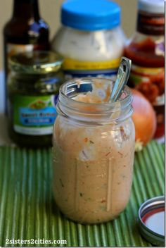 Thousand Island Dressing for Reuben Sandwiches (use leftover corned beef from St. Patrick's Day)