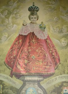 Infant of Prague.  No artist information....: