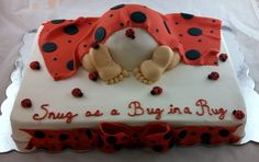 ladybug baby shower cake - Google Search