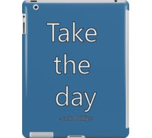 'Penpals Podcast: Take the day - Jack Phillips' iPad Case/Skin by Caroline Brennan Ipad Case, Iphone Cases, Day, Shirt, Dress Shirt, Iphone Case, Shirts, I Phone Cases