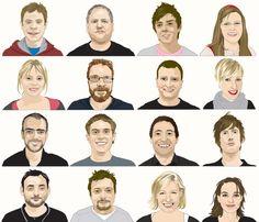 Portraits Portraits, Movies, Movie Posters, Art, Art Background, Films, Head Shots, Film Poster, Kunst
