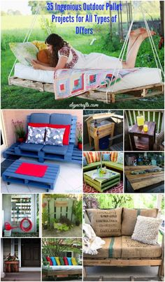 Ingenious Outdoor Pallet Projects for All Types of DIYers