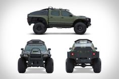 Toyota Tacoma Polar Expedition Truck--If we need to make a run for the south pole in light of an impending US invasion. Well done, Toyota. Toyota Autos, Toyota 4x4, Toyota Trucks, Lifted Trucks, Toyota Tundra, Lifted Ford, Toyota 4runner, Cool Trucks, Cool Cars