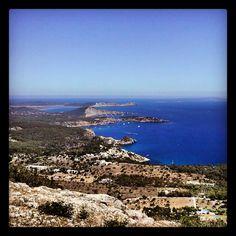 Es Cubells, Porroig, Cala Jondal, Ses Salines and Formentera in just one shot... Not bad!!