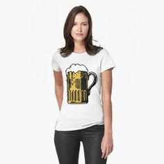Best Beer, My T Shirt, Bones, Cold, T Shirts For Women, Printed, Awesome, Stuff To Buy, Products