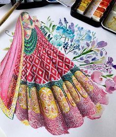 Dress Design Drawing, Dress Design Sketches, Fashion Design Sketchbook, Fashion Design Drawings, Fashion Sketches, Dress Drawing, Art Sketches, Art Drawings, Fashion Art