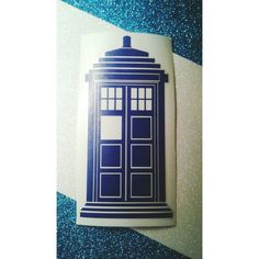 Tardis Decal Doctor Who Decal car laptop vinyl by FandomAlley