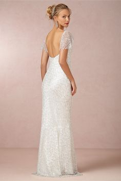 Snowflake Gown in Bride Wedding Dresses at BHLDN